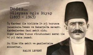 Dedeeem 300x178 - Haluk Levent'ten Duygu Dolu 'İzmir Marşı'