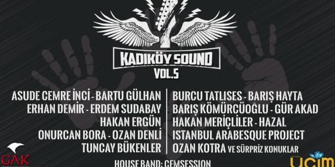 """""""Kadıköy Sound 5"""" Bu Kez Çocuk İstismarı İle Mücadele İçin!"""