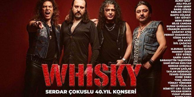 Whisky ve Serdar Çokuslu 40. Yılını Dostları İle Birlikte Kutluyor!