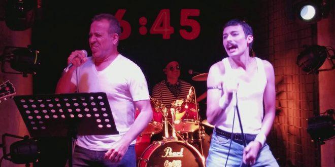 "Haluk Levent'in Konuk Olduğu A Kind Of Vision Sahnesinde ""Freddie Mercury"" Performansı!"